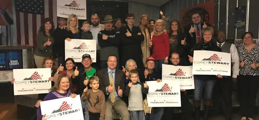 Corey Stewart Overwhelmed By Additional Trump Team Support