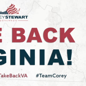 Republican Candidate for Va Governor Corey Stewart-Will Drain and Clean-Up the Swamp!