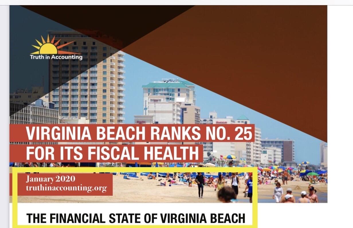 Virginia Beach Ranks #25 Behind Far More Liberal Cities